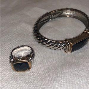 Premier Designs bracelet and ring set